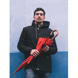 Parapluie L'Aurillac de Piganiol Homme Rouge