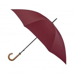 Parapluie de Golf droit manuel bordeaux
