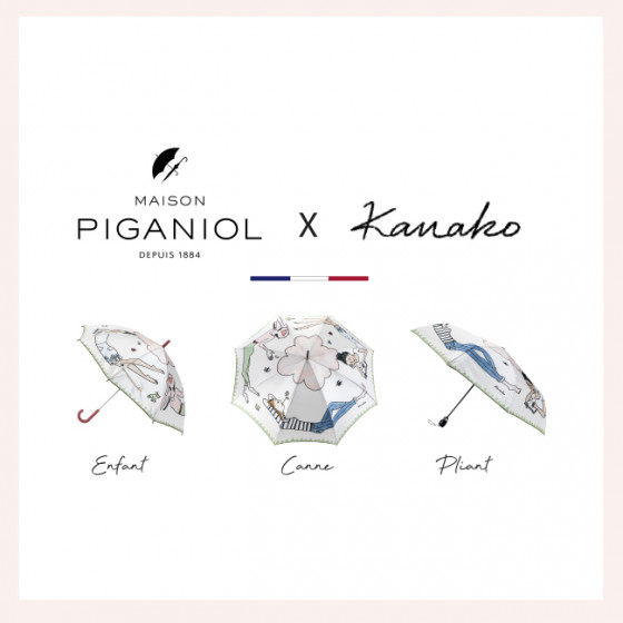 Kanako Kuno x Maison Piganiol Pliant