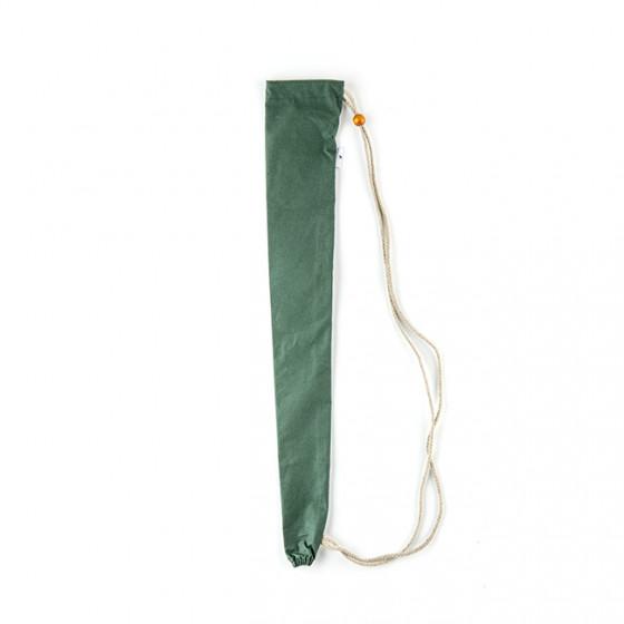 Fourreau bandoulière vert pour parapluie de Berger