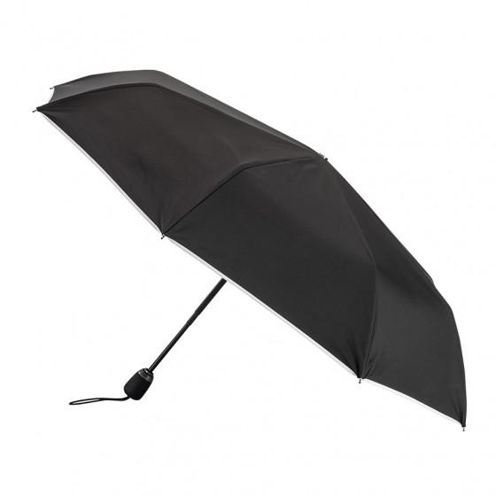 Parapluie Femme Pliant Noir finition Blanche