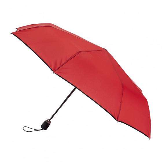Parapluie Femme Pliant Rouge finition Noir